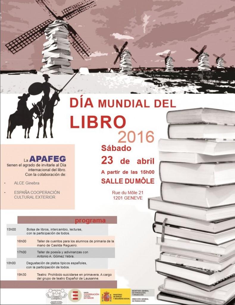 Dia mundial del libro 2016